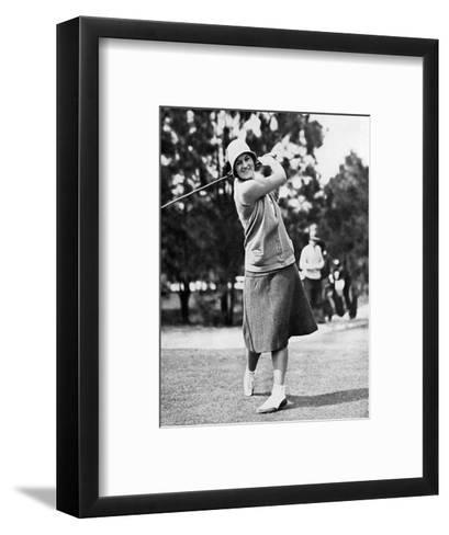 Maureen Orcutt, The American Golfer, May 1,1931--Framed Art Print