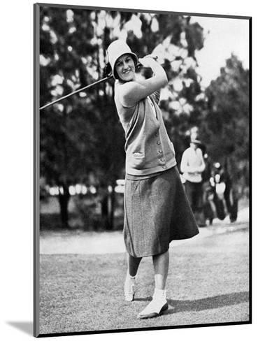 Maureen Orcutt, The American Golfer, May 1,1931--Mounted Premium Photographic Print