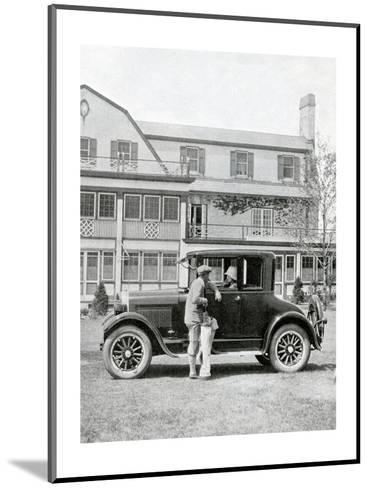 Studebaker Coupe, The American Golfer June 13, 1925--Mounted Premium Photographic Print