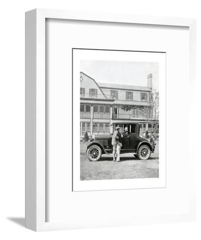 Studebaker Coupe, The American Golfer June 13, 1925--Framed Art Print