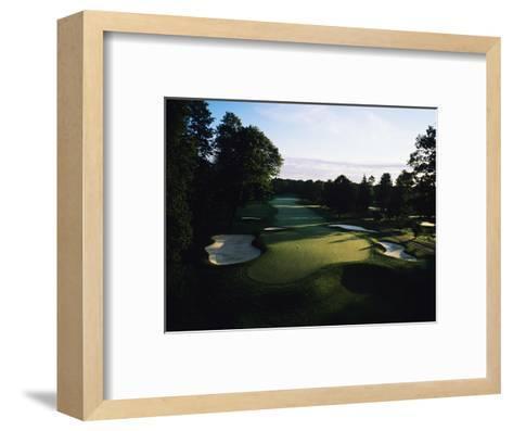 Oak Hill Country Club, Hole 8-Stephen Szurlej-Framed Art Print