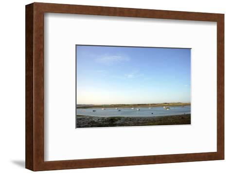 Landscape view of a Port in Ireland-Stephen Szurlej-Framed Art Print