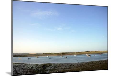 Landscape view of a Port in Ireland-Stephen Szurlej-Mounted Premium Photographic Print