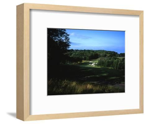 Patriot Hills Golf Club, Hole 1-Stephen Szurlej-Framed Art Print