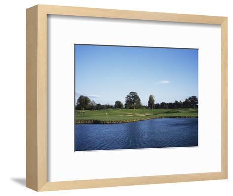 The K Club, Hole 18-Stephen Szurlej-Framed Art Print