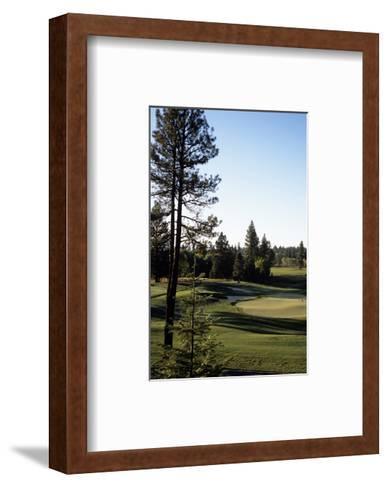 Osprey Meadow at Tamarack Resort, Hole 18-Stephen Szurlej-Framed Art Print