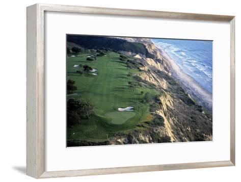 Torrey Pines Municipal Golf Course South Course, Hole 4-J.D. Cuban-Framed Art Print