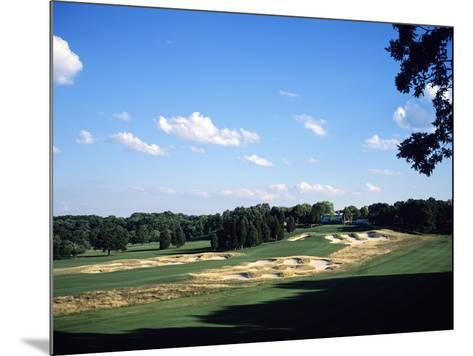 Bethpage State Park Black Course. December 2001-Stephen Szurlej-Mounted Premium Photographic Print