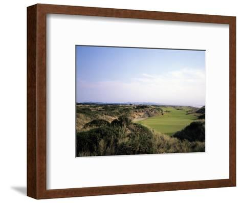 Bandon Dunes Golf Course, Hole 5-Stephen Szurlej-Framed Art Print