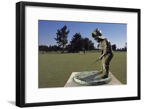 Pinehurst Putter Boy I-Dom Furore-Framed Art Print