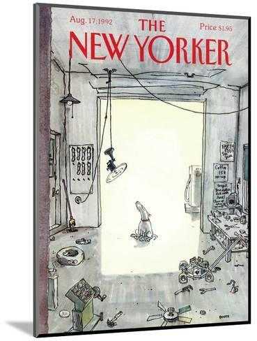 The New Yorker Cover - August 17, 1992-George Booth-Mounted Premium Giclee Print