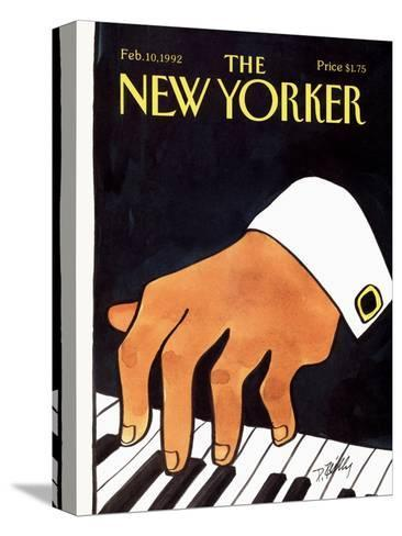 The New Yorker Cover - February 10, 1992-Donald Reilly-Stretched Canvas Print