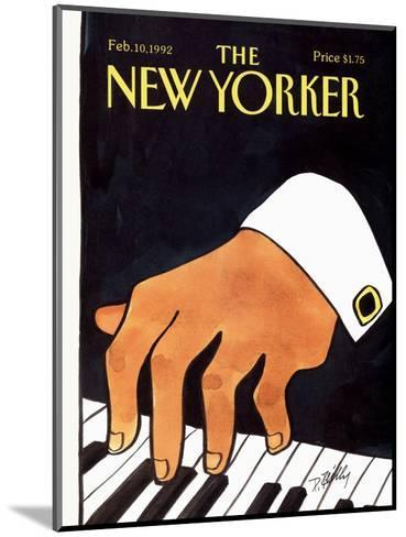 The New Yorker Cover - February 10, 1992-Donald Reilly-Mounted Premium Giclee Print