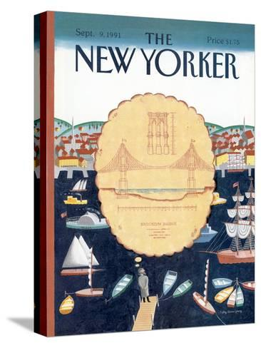 The New Yorker Cover - September 9, 1991-Kathy Osborn-Stretched Canvas Print