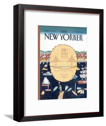 The New Yorker Cover - September 9, 1991-Kathy Osborn-Framed Art Print