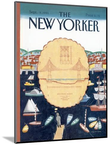 The New Yorker Cover - September 9, 1991-Kathy Osborn-Mounted Premium Giclee Print