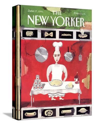 The New Yorker Cover - June 17, 1991-Kathy Osborn-Stretched Canvas Print