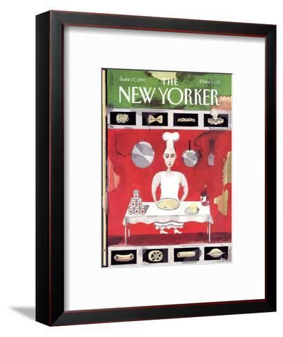 The New Yorker Cover - June 17, 1991-Kathy Osborn-Framed Art Print