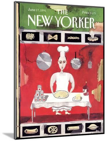 The New Yorker Cover - June 17, 1991-Kathy Osborn-Mounted Premium Giclee Print