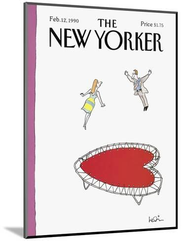 The New Yorker Cover - February 12, 1990-Arnie Levin-Mounted Premium Giclee Print