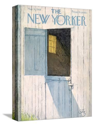 The New Yorker Cover - May 18, 1968-Arthur Getz-Stretched Canvas Print