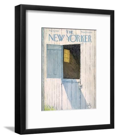 The New Yorker Cover - May 18, 1968-Arthur Getz-Framed Art Print