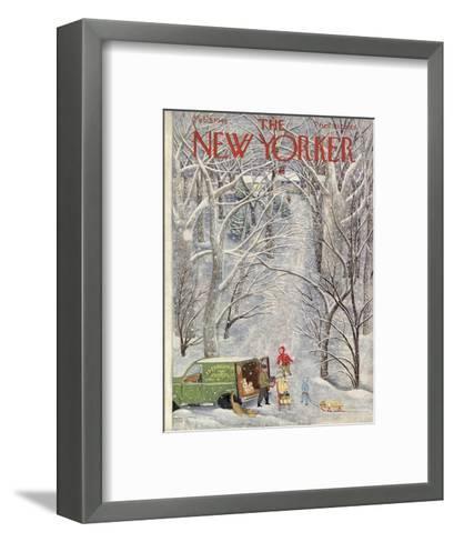 The New Yorker Cover - February 5, 1949-Ilonka Karasz-Framed Art Print