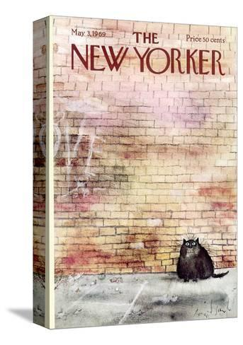 The New Yorker Cover - May 3, 1969-Ronald Searle-Stretched Canvas Print