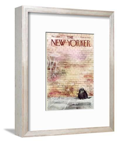 The New Yorker Cover - May 3, 1969-Ronald Searle-Framed Art Print