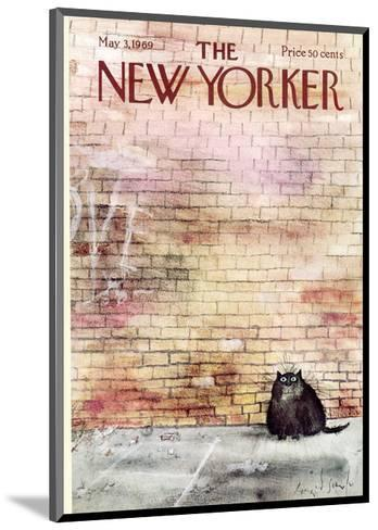The New Yorker Cover - May 3, 1969-Ronald Searle-Mounted Premium Giclee Print