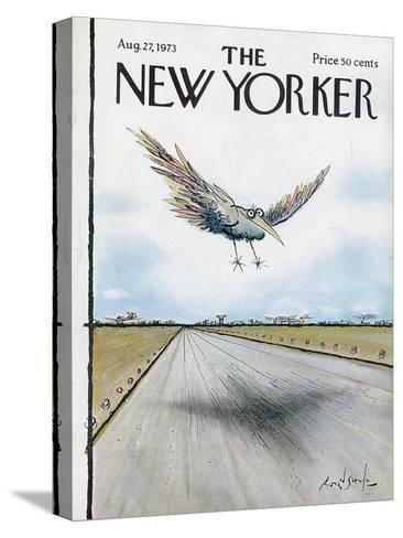 The New Yorker Cover - August 27, 1973-Ronald Searle-Stretched Canvas Print