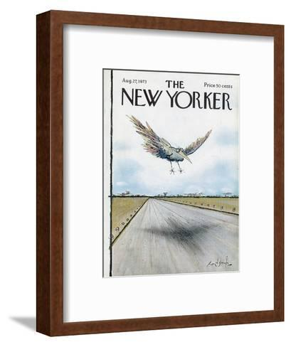 The New Yorker Cover - August 27, 1973-Ronald Searle-Framed Art Print