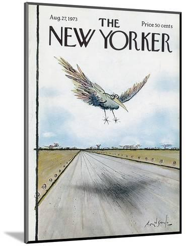 The New Yorker Cover - August 27, 1973-Ronald Searle-Mounted Premium Giclee Print