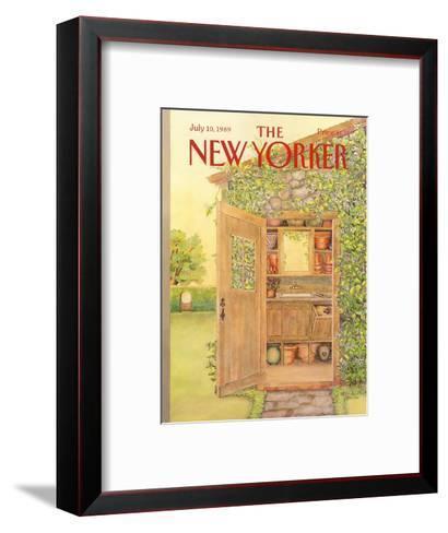 The New Yorker Cover - July 10, 1989-Jenni Oliver-Framed Art Print