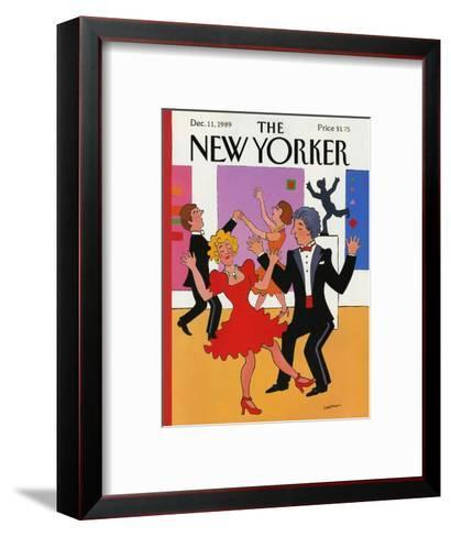 The New Yorker Cover - December 11, 1989-Barbara Westman-Framed Art Print