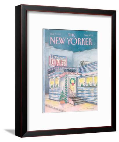 The New Yorker Cover - December 7, 1987-Iris VanRynbach-Framed Art Print