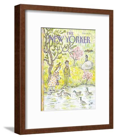 The New Yorker Cover - June 10, 1985-William Steig-Framed Art Print
