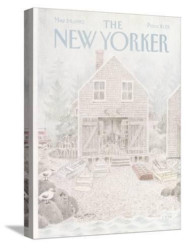 The New Yorker Cover - May 24, 1982-Charles E. Martin-Stretched Canvas Print