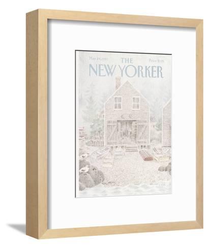 The New Yorker Cover - May 24, 1982-Charles E. Martin-Framed Art Print