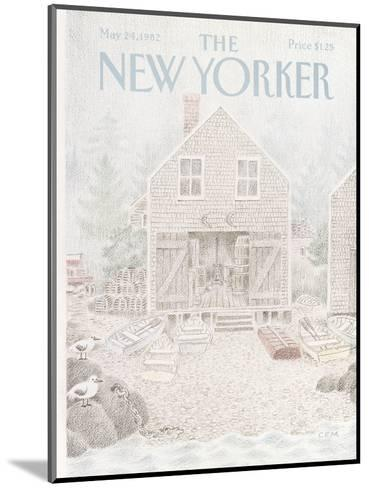 The New Yorker Cover - May 24, 1982-Charles E. Martin-Mounted Premium Giclee Print