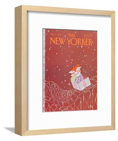 The New Yorker Cover - May 31, 1982-William Steig-Framed Art Print