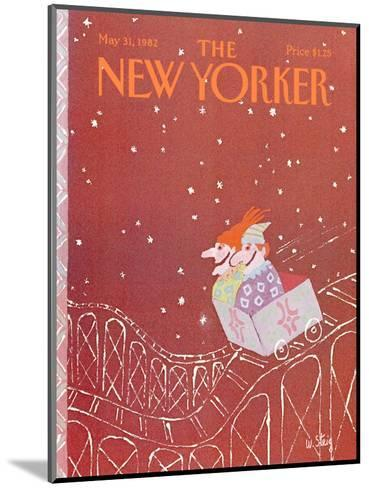 The New Yorker Cover - May 31, 1982-William Steig-Mounted Premium Giclee Print