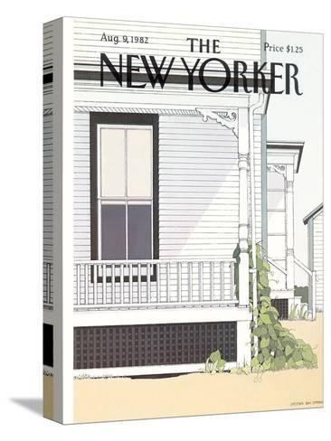 The New Yorker Cover - August 9, 1982-Gretchen Dow Simpson-Stretched Canvas Print