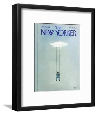 The New Yorker Cover - June 30, 1980-Robert Tallon-Framed Art Print