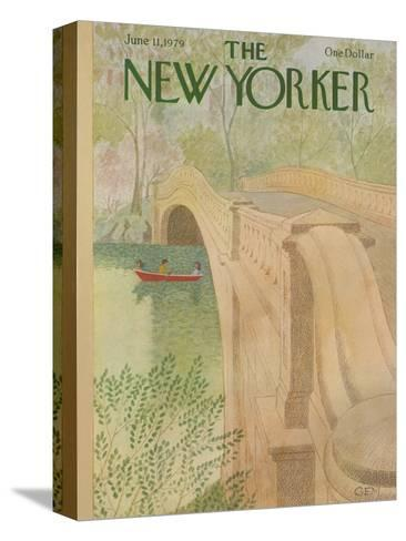 The New Yorker Cover - June 11, 1979-Charles E. Martin-Stretched Canvas Print