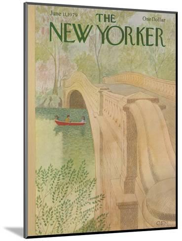 The New Yorker Cover - June 11, 1979-Charles E. Martin-Mounted Premium Giclee Print