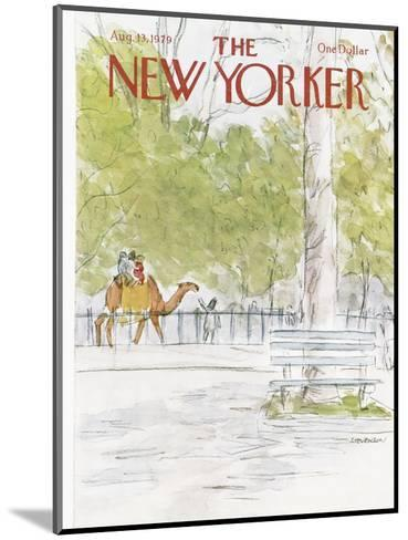 The New Yorker Cover - August 13, 1979-James Stevenson-Mounted Premium Giclee Print