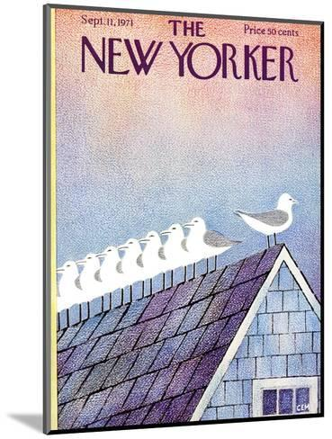 The New Yorker Cover - September 11, 1971-Charles E. Martin-Mounted Premium Giclee Print