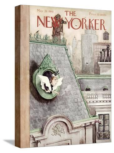 The New Yorker Cover - May 24, 1941-Mary Petty-Stretched Canvas Print