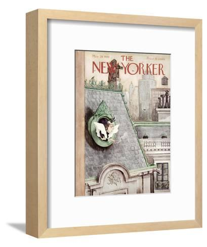 The New Yorker Cover - May 24, 1941-Mary Petty-Framed Art Print